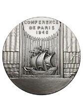 Medaille conférence de Paris 1946 Bronze argenté