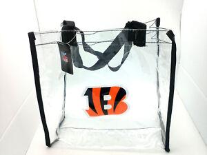 Cincinnati Bengals Clear Reusable Bag--NFL--Entry Compliant 12 X 12 X 6