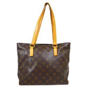 LOUIS VUITTON CABAS PIANO SHOULDER TOTE BAG VI0092 MONOGRAM M51148 zg 36256