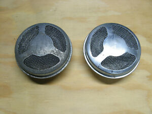 Pair Vintage Polaris Snowmobile Air Cleaners TX, Charger, Mustang