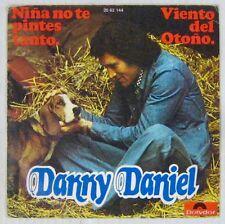 Chats - Chiens  45 tours Danny Daniel Espagne 1974