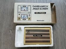 Nintendo Game & Watch Game IN BOX - OIL PANIC ***INCLUDES 2 NEW BATTERIES***
