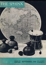 Cups and Balls Australia The Sphinx September 1946 Vintage Magicians' Magazine