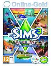 Les Sims 3 - Île de Rêve Clé - Island Paradise Add-on Carte - EA Origin [PC][FR]