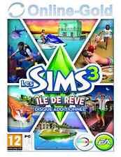 Les Sims 3 - Île de Rêve Clé - Island Paradise Add-on Carte - EA Origin [PC][FR]