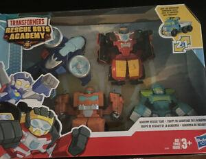 Transformers Playskool Heroes Rescue Bots Academy Rescue Team