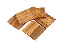 Untersetzer quadratisch aus OLIVENHOLZ 6er Set Holz