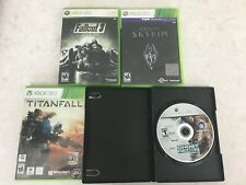 LOT 4 XBOX 360 Fallout 3 Skyrim Titanfall Ghost Recon Advanced Warfighter