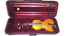 PALMER PRAGA PPV 644 4/4 VIOLIN Stradivari BOW ROSIN MANIS WITH CASE (NO BRIDGE)