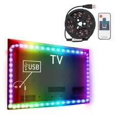 1M RGB 5050 SMD 60 LED Strip luce di striscia TV Background Telecomando WIFI USB