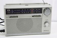 Vintage Sanyo AM/FM 2 Band Receiver Radio Model# RP-5800 Works Sounds Great!