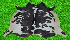 """New Cowhide Rug Hair On COWHIDE Area Rug(48"""" x 46"""")Animal Carpet 15.3 SF SM1898"""