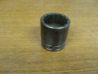 """Snap On GSW 381 1/2"""" Drive 1-3/16"""" Shallow Industrial Finish Socket 12 Point USA"""