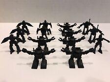 Arco Rogun 1984 Vintage Go-Bots Black Plastic Robots Lot Of 14 Great Shape!