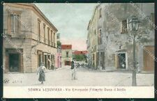 Napoli Somma Vesuviana Alterocca 4171 cartolina XB3981