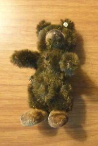 """STEIFF SMALL BEAR - 3 1/2"""" - BUTTON ON EAR"""