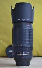 Nikon Nikkor AF-S 70-300mm F/4.5-5.6G VR IF ED, great condition!