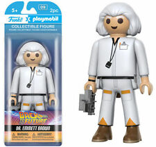 Back To The Future - Doctor Emmett Brown / Collectible Funko Playmobil Figure