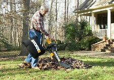 Worx WG505 Trivac Collection 3-in-1 Blower Mulcher And Vacuum With Leaf New