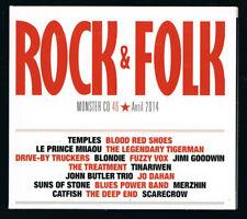 ♫ - MONSTER CD 46 - ROCK & FOLK - 18 TITRES - AVRIL 2014 - BON ÉTAT - ♫