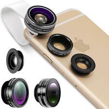 Neewer 3In 1 Lens Kit(Supreme Fisheye + Wide Angle +Macro)f iPhone4 4S 5 5s 6 6+