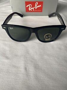 Ray-Ban Wayfarer Classic RB2140 901 54-18 Men's Sunglasses (New)