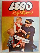 Vintage Lego - System Set #281 21 Blue 1x2 3x2 Sloping Bricks - C1960-1965 #1