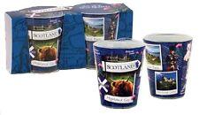 Set of 2 Scotland Snapshot Shot Glasses Glass Scottish Scenes Collage Souvenir