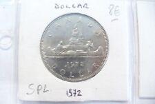 """MONNAIE """" CANADA  """" DOLLAR 1972  SPL  - SOUS ÉTUIS & FEUILLE / SUPERBE A VOIR"""
