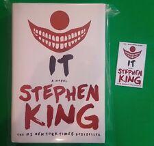 IT Stephen King ***BRAND NEW 2017 HARDBACK!!*** Scribner