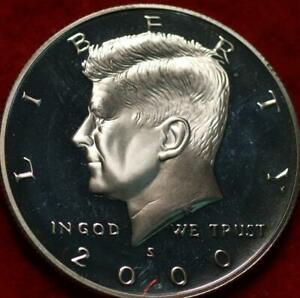 Uncirculated Proof 2000-S San Francisco Mint  Kennedy Half