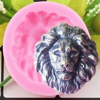 Lion Head Silicone Mold 3D Resin Epoxy Mould DIY Craft Animal Shape Soap Molds