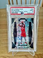 2017 Prizm Fast Break Auto 🔥 OG Anunoby 🔥 RC #38 PSA 9 MINT