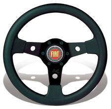FIAT 500 F/L/R 126 EPOCA VOLANTE SPORTIVO LUISI FALCON DIAMETRO PICCOLO 31 NERO