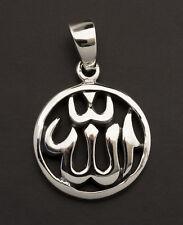 Pendentif Allah en Argent 925 3.9g -bijoux Egypte ancienne 10007 W13