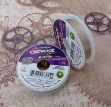 Soft flex wire .014 dia champagne - 10FT, fine beading wire