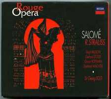 Coffret 2 CDs box Georg SOLTI / Strauss Salomé / Decca 1997