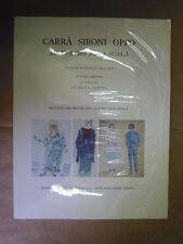 Carrà Sironi Oppio al teatro alla scala. Bozzetti e figurini 1935-1957.  Milano