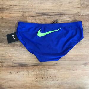 "New Nike Men's Swim Racing Brief 34"" SU20863"
