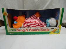 Vintage Sesame Street Sing & Snore Ernie by Tyco 1996