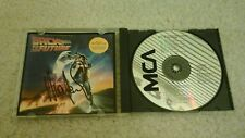 HUEY LEWIS Signed BACK TO THE FUTURE CD SOUNDTRACK