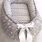 Gray Baby Nest Bed Babynest Sleeper Co Pod Newborn Snuggle Crib Bed Toddler Cot