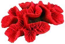 Décorations corail artificiel rouges pour aquarium, bassin et mare
