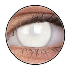 MAX BLIND WHITE lentille de couleur aveugle lens contact halloween horror zombie