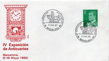 España IV Exposición de Anticuarios Barcelona año 1980 (CA-598)