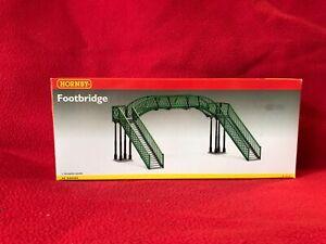 oo gauge model railway layout R076 Footbridge
