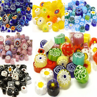 Millefiori Mosaic Tiles for arts and crafts - 25g Various Colours