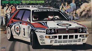 Hasegawa 1/24 Lancia Super Delta 1992 WRC Makes Champion CR15 #25015