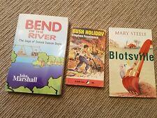 3x kids books by John Marshall, Stephen Fennimore & Mary Steele. As new!