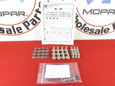 68193128AB DODGE RAM 1500-5500 Tubular Side Step Mounting Hardware Kit OEM MOPAR